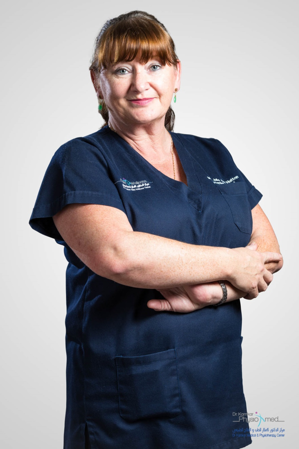 Ms. Julie AnnHutton - Physiotherapist