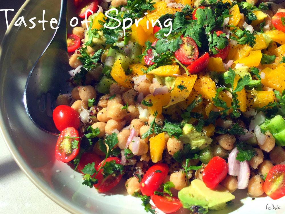 Cilantro-Quinoa-Avocado-Salad