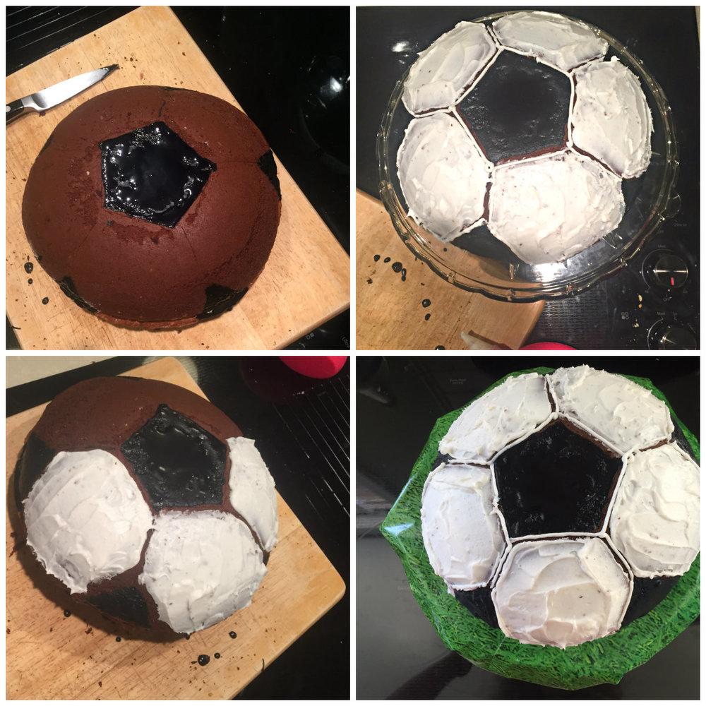Chocolae-Soccer-Cake