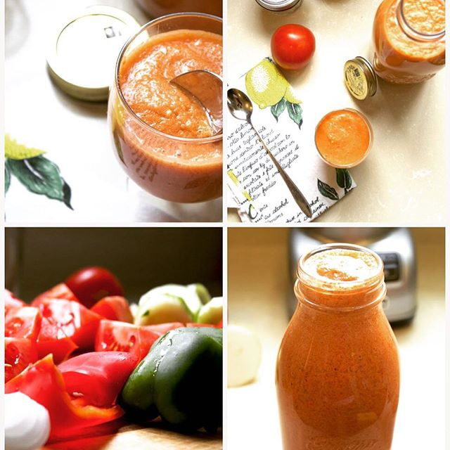 Time for #gazpacho, the real one. Recipe + a pinch of Spanish vocabulary 😉 on www.sweetlemonsandlilikoi.com @bonappetitmag @wholefoods @buzzfeedfood #foodie #eater #food52 #huffposttaste #spanishdelights #foodblogger #foodmagazine #wineanddine #edibleeastbay @spoonful_mag @foodnetwork @foodblogfeed @foodandwine @thekitchn @saveurmag @sfchronicle_food #vegetarian #vegan #summersoups