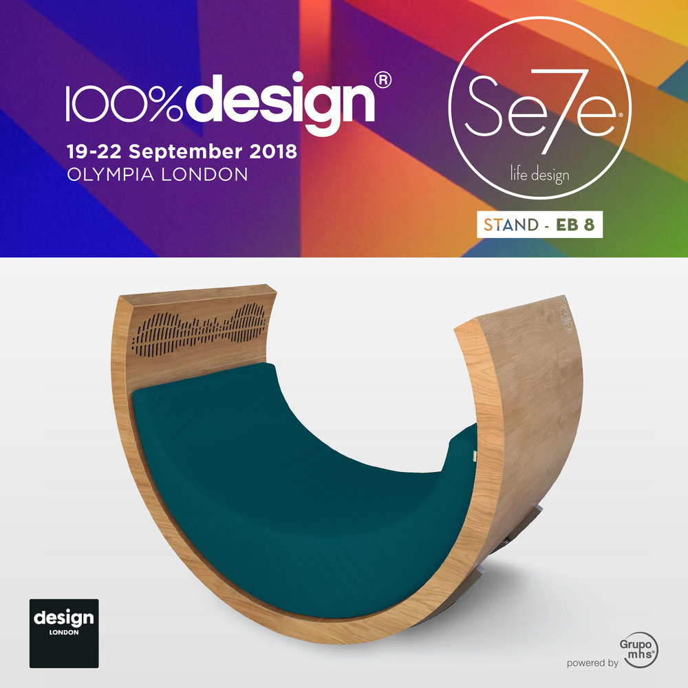 100%design, London 2018