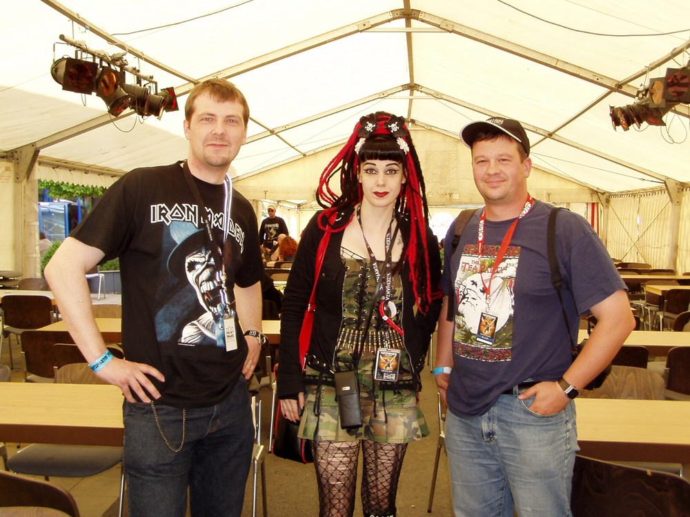 Beim Earthshaker Festival 2005