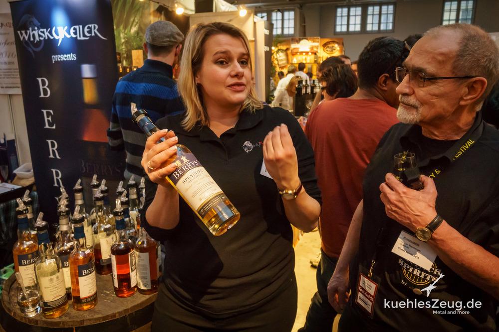 Kathi vom Whiskykeller und Hilmar von den Munich Spirits