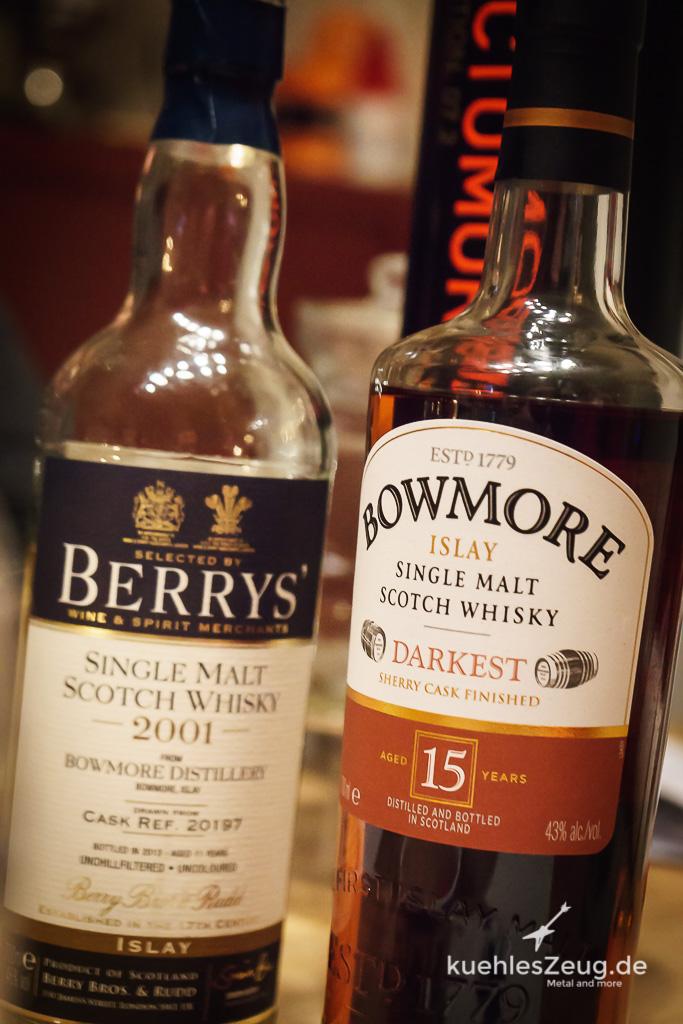 Bowmore VS. Bowmore