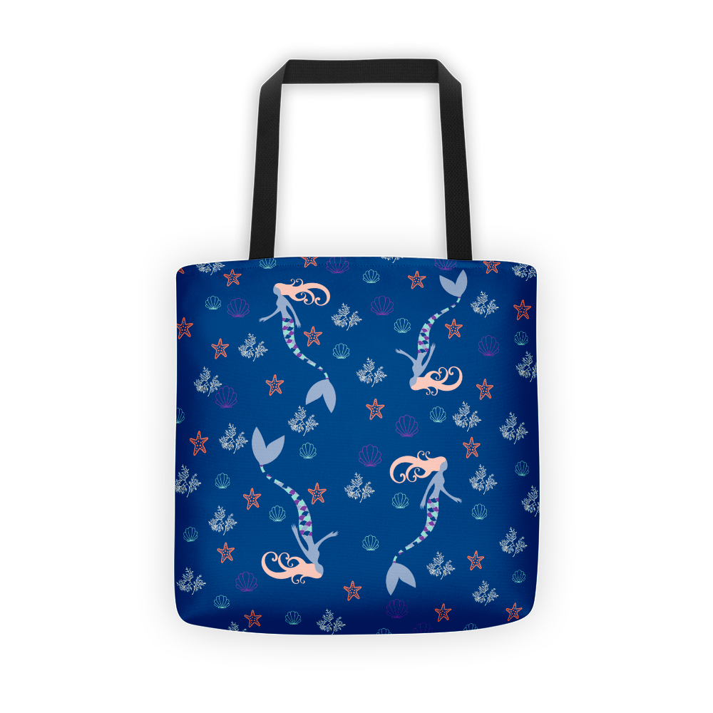 Haunting Mermaid Tote