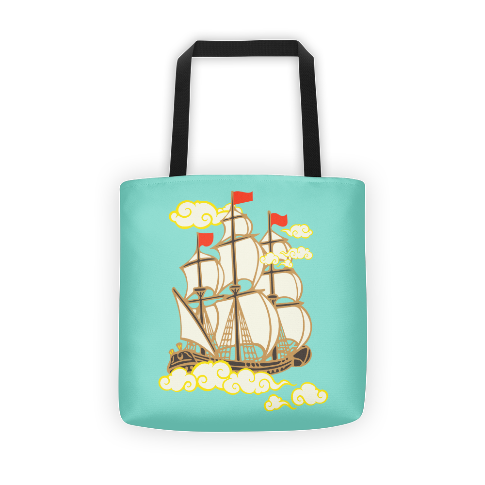 Time is Chasing Us Tote