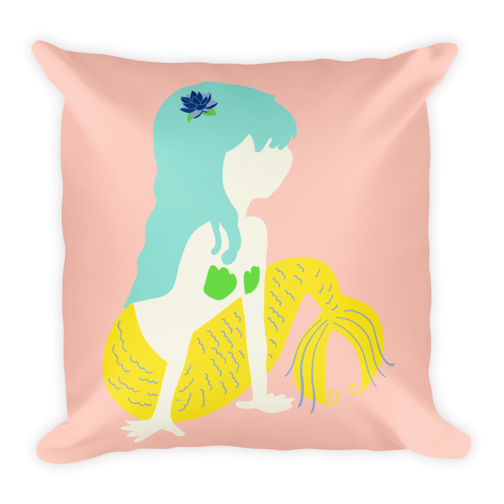 Brightest Mermaid Pillow