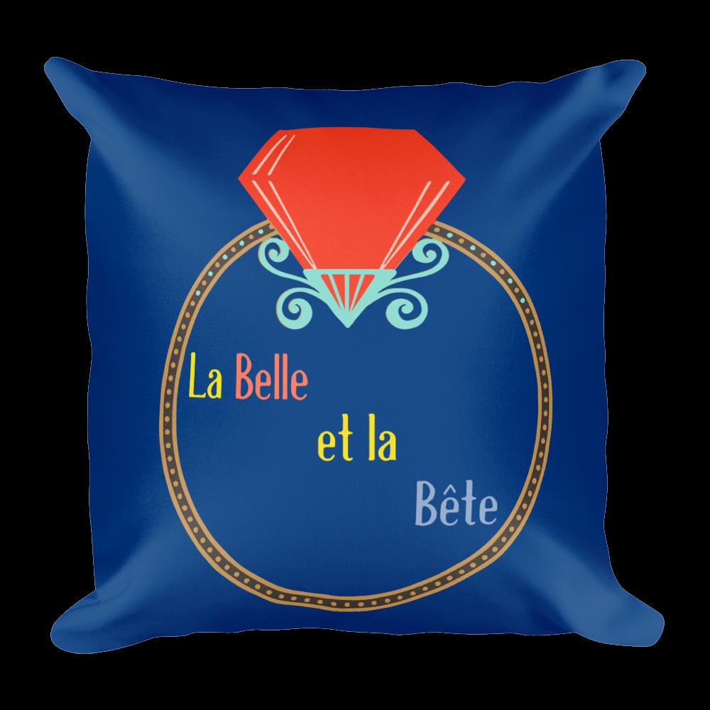 La Belle et la Bete Pillow
