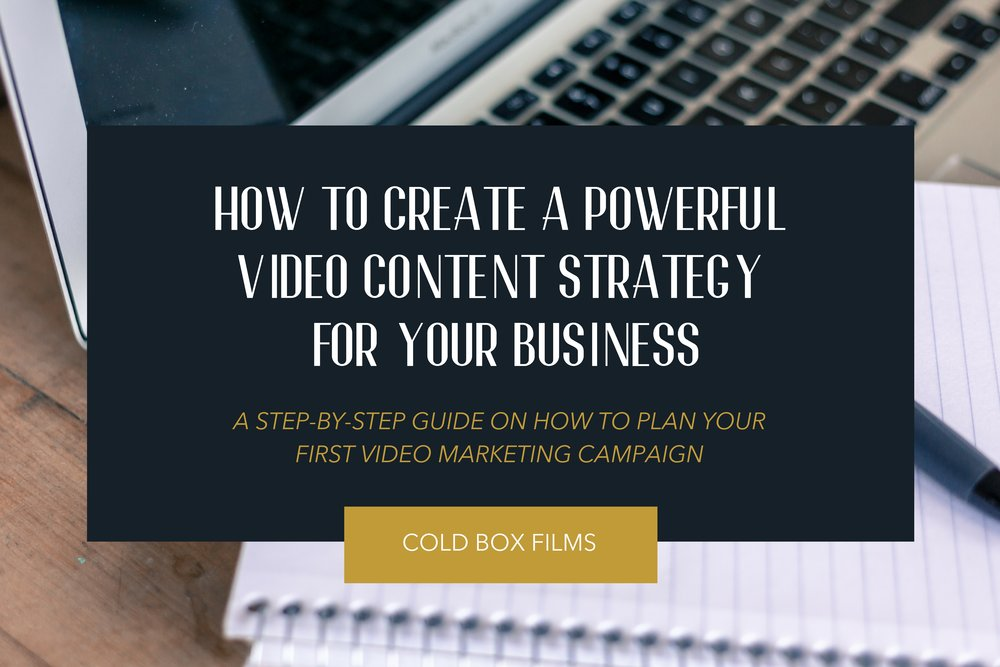 How To Create A Powerful Video Content Strategy For Your Business
