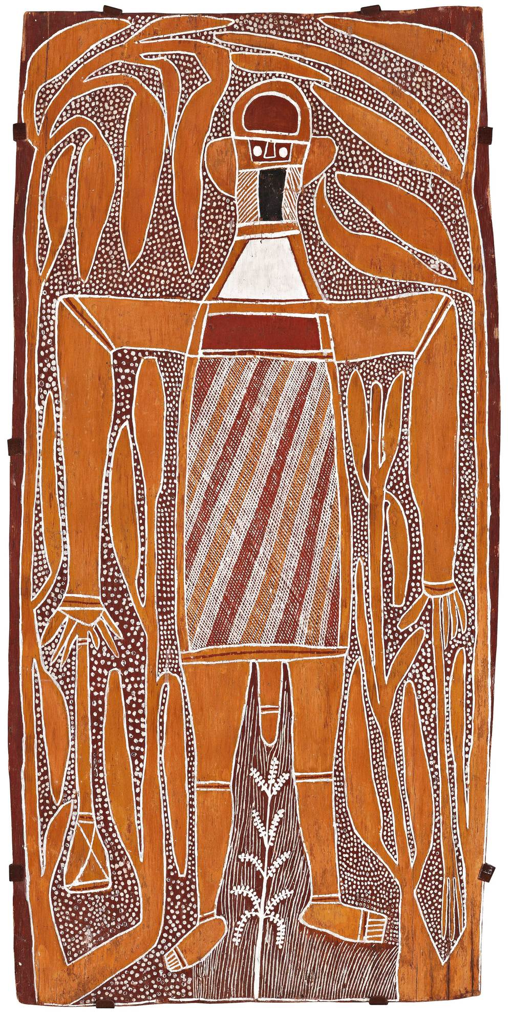 DAVID MALANGI, 1927–1999  Gurrmirringu the Mighty Hunter , 1967