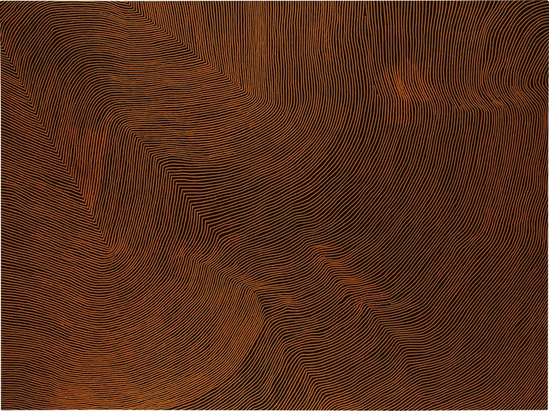 Warlimpirrnga Tjapaltjarri, Untitled, sold at Sotheby's London for £167,000 IBP, September 2016