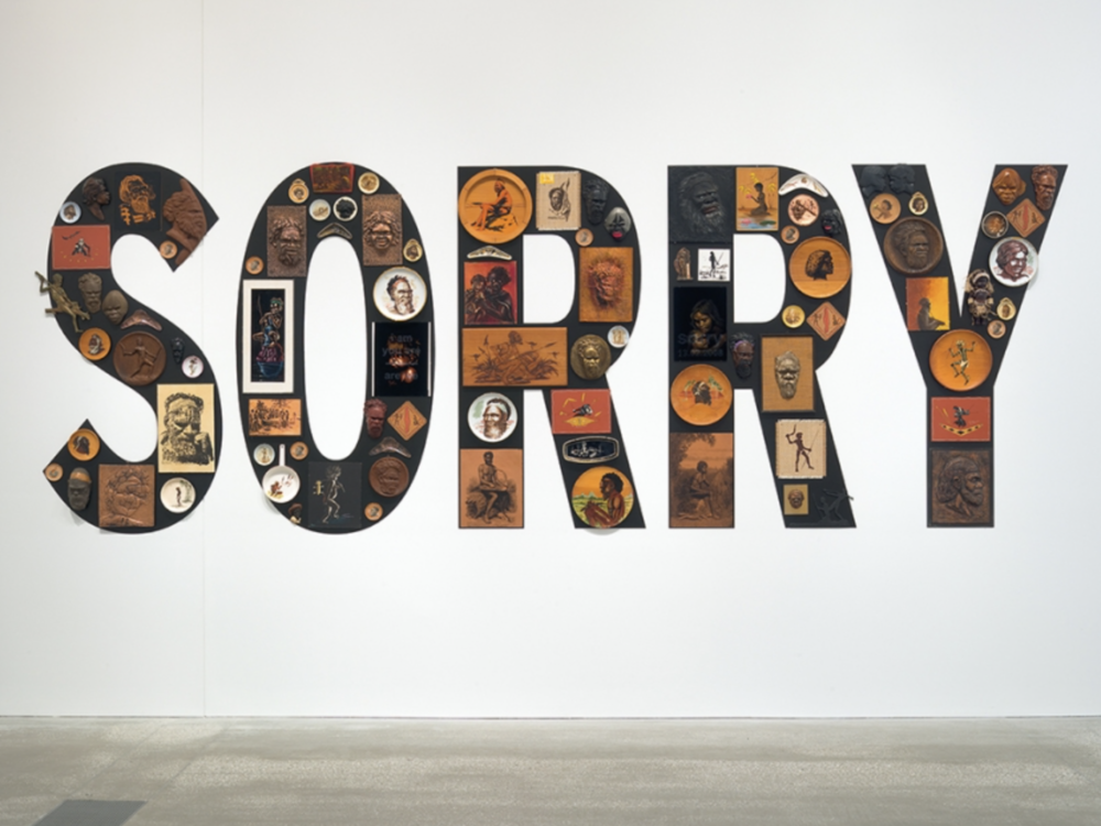 Tony Albert,  Sorry , 2008, from the collection of the Queensland Art Gallery ©The artist