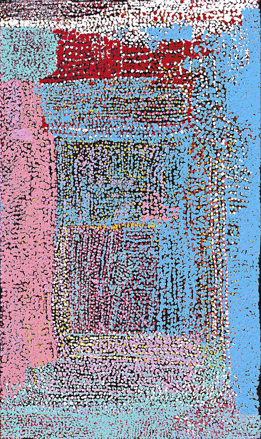TOMMY MITCHELL , 1943-2013,  Wakalpuka , 2012, 102 x 51 cm