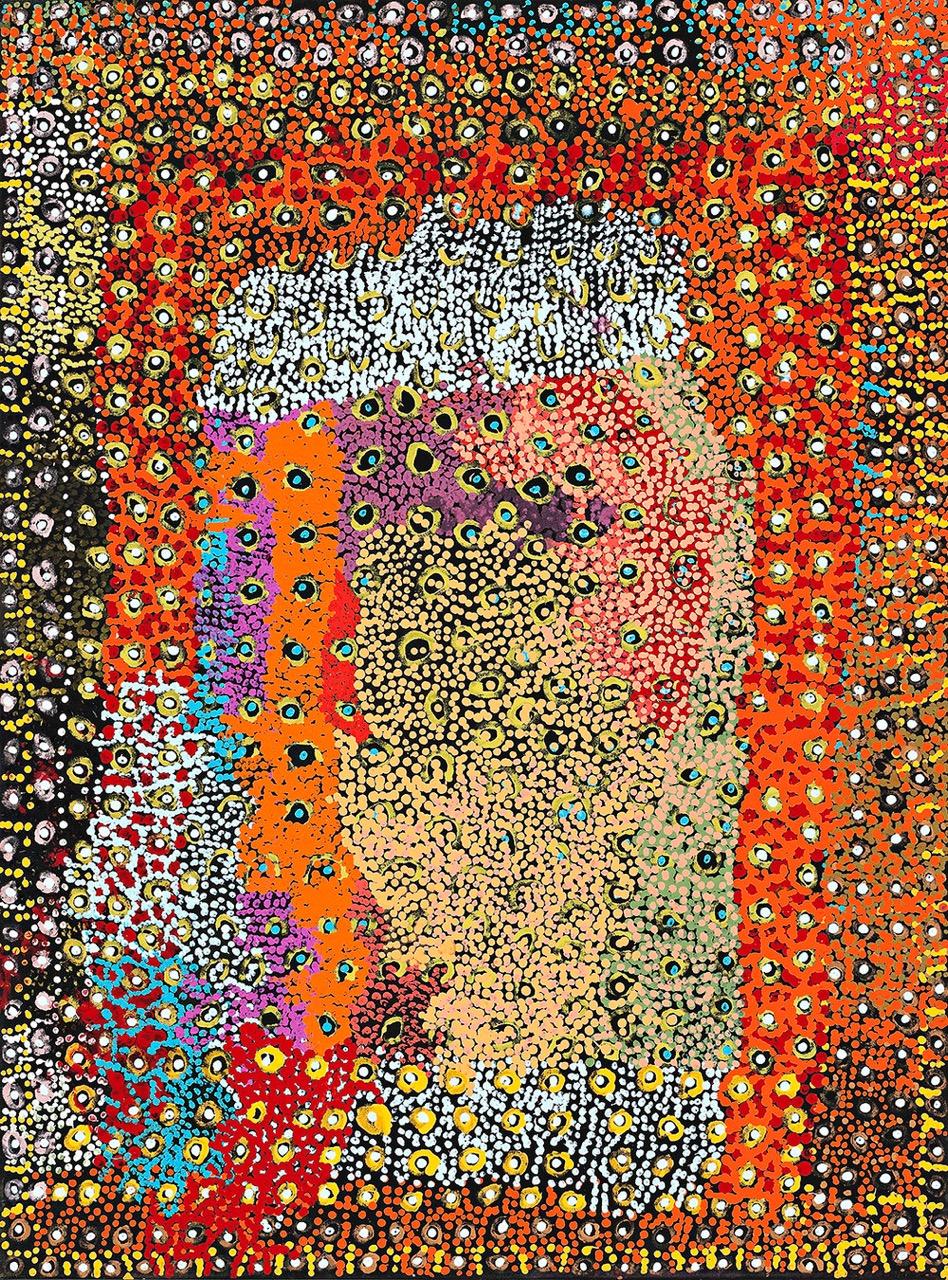 TOMMY MITCHELL , 1943-2013  Wakalpuka,  2010, 101.5 x 76 cm
