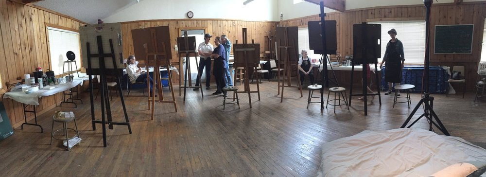 Weekly Life Drawing at the  Hill Country Arts Foundation