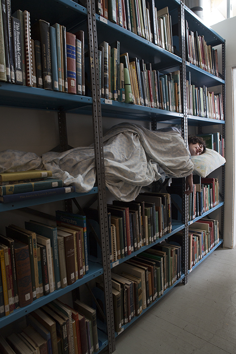LIBRARY SLUMBER