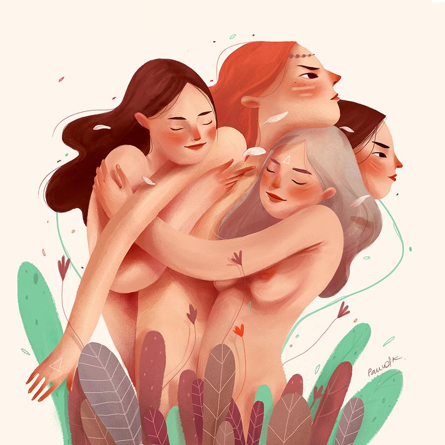 Pauvolk - Mujeres