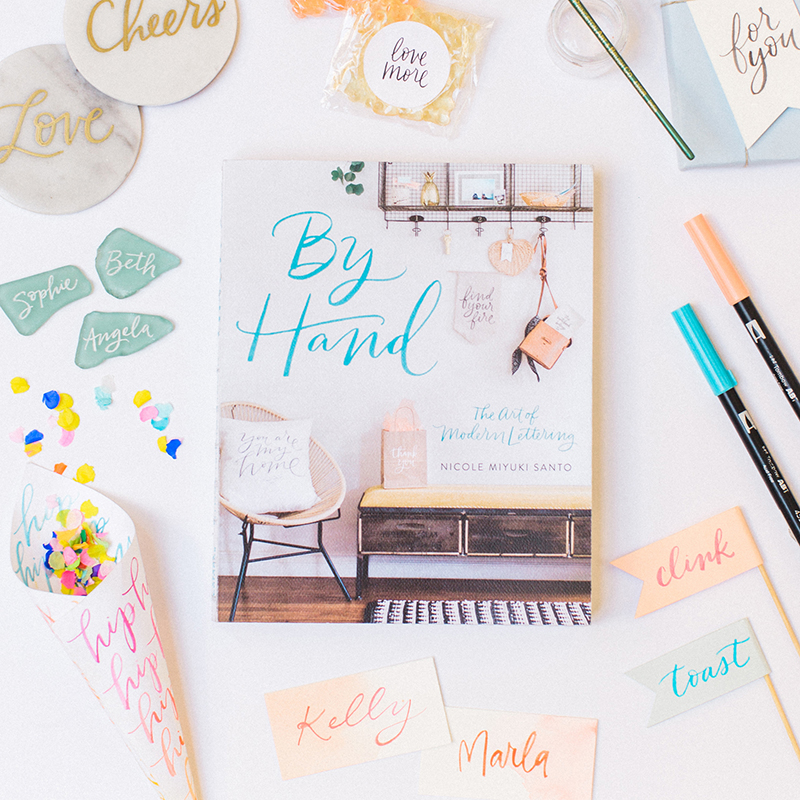 My lettering book!