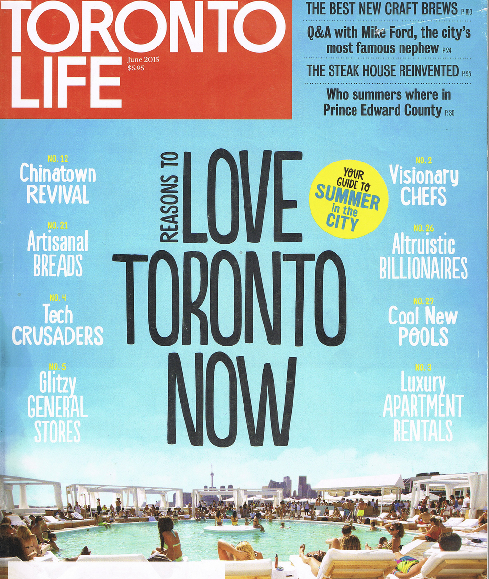 Toronto Life Magazine Feature