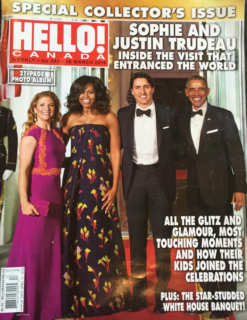 Sophie Trudeau wears Dean Davidson Jewelry in Hello Canada