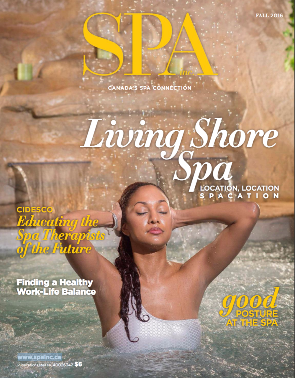 Spa Inc Magazine