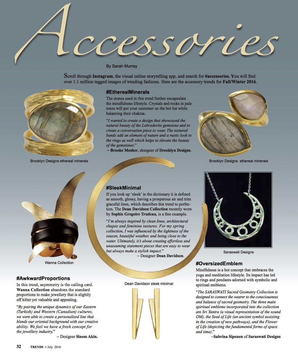 Dean Davidson Accessories on Trends