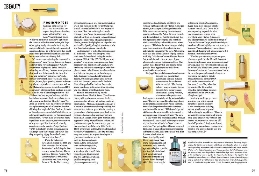 Blend & Boost Featured on ELLE Magazine