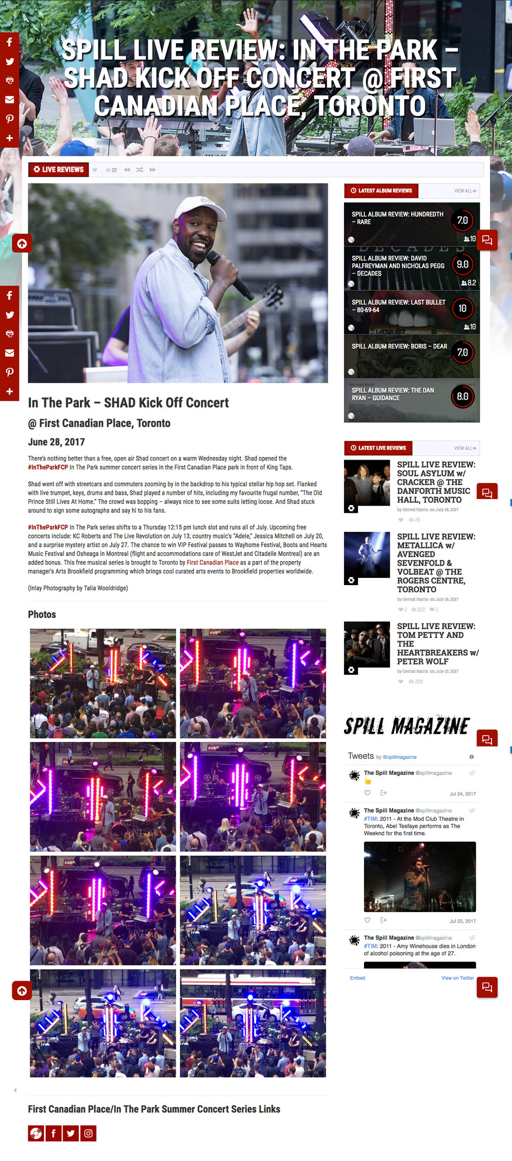 FCP featured in Spill Magazine. spillmagazine.com