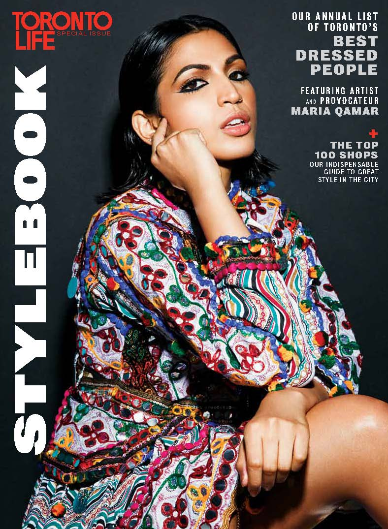 Anne Sportun featured in Toronto Life Style Book