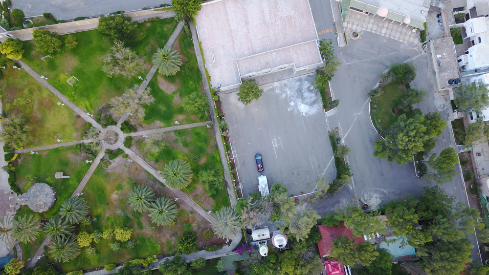 Drone photo of my truck (black) and rv at one of the few trailer parks still open in Mexico. After the drug war broke out in the early 2000's American tourism by way of RV literally died overnight. This drone picture was taken in July 2017, the most violent year on record in Mexico due to drug violence and excessive lawlessness. As you can see I was the only person there.