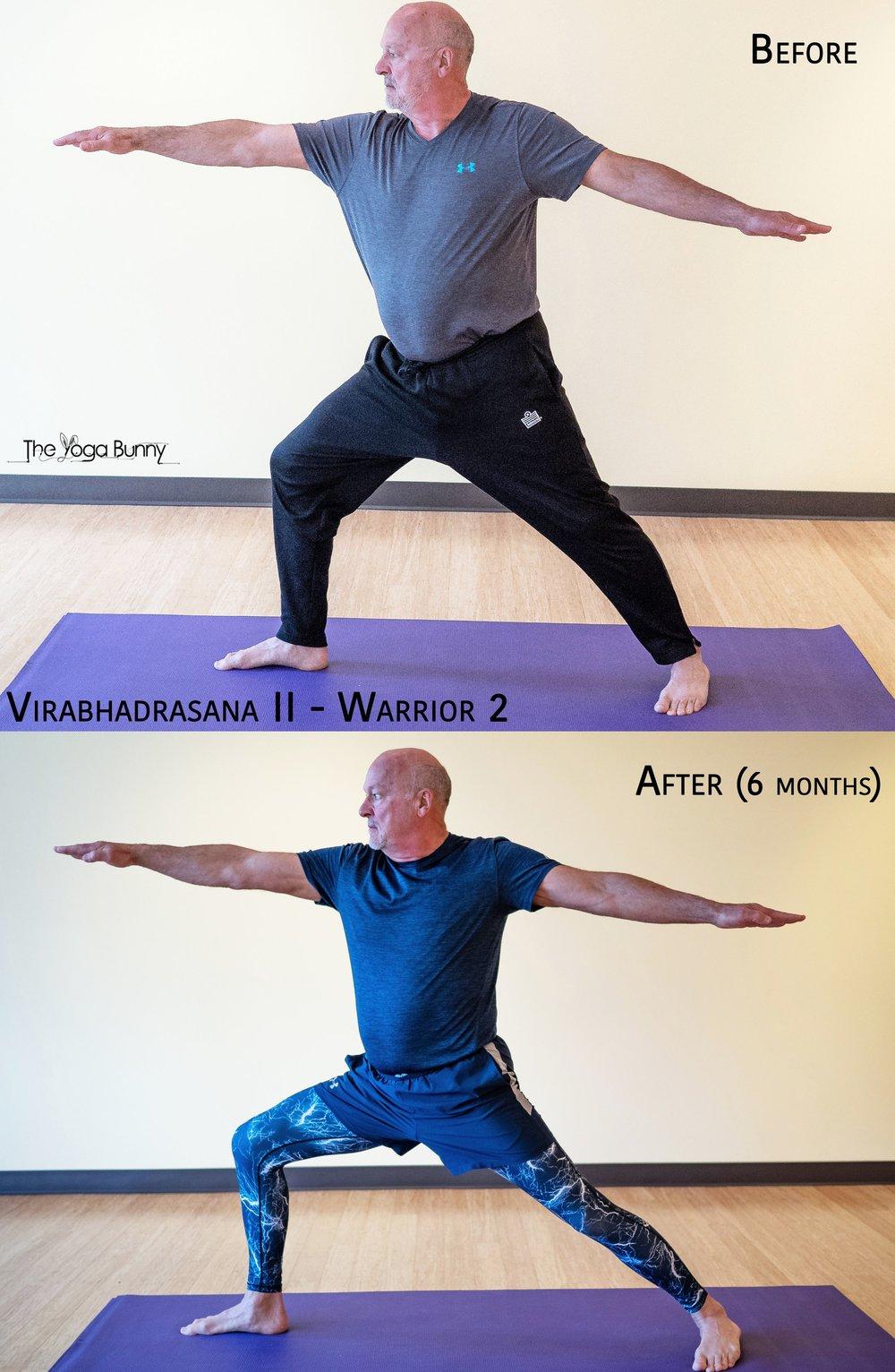 Virabhadrasana II - Warrior 2