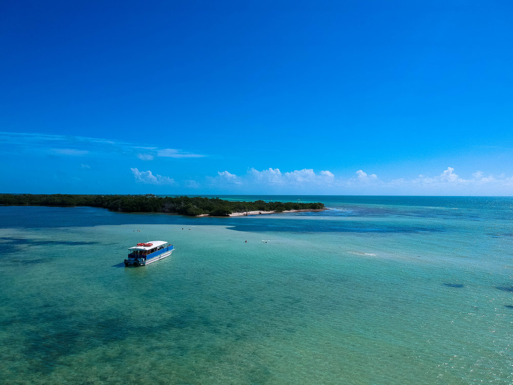 A must-do in the Florida Keys is a boat tour with Fury Water Adventures