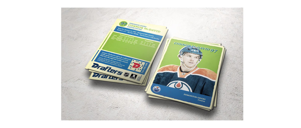Connor McDavid Hockey Card