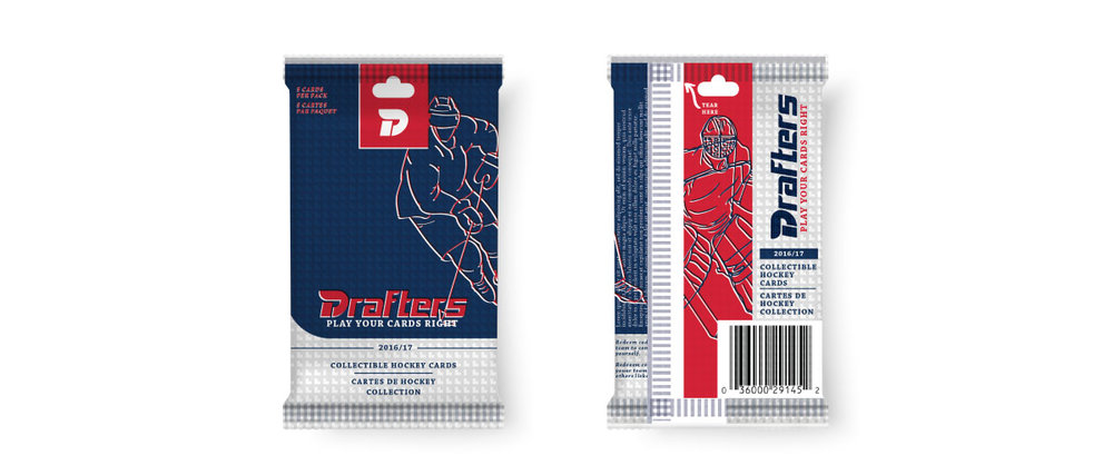 Hockey Card Packaging
