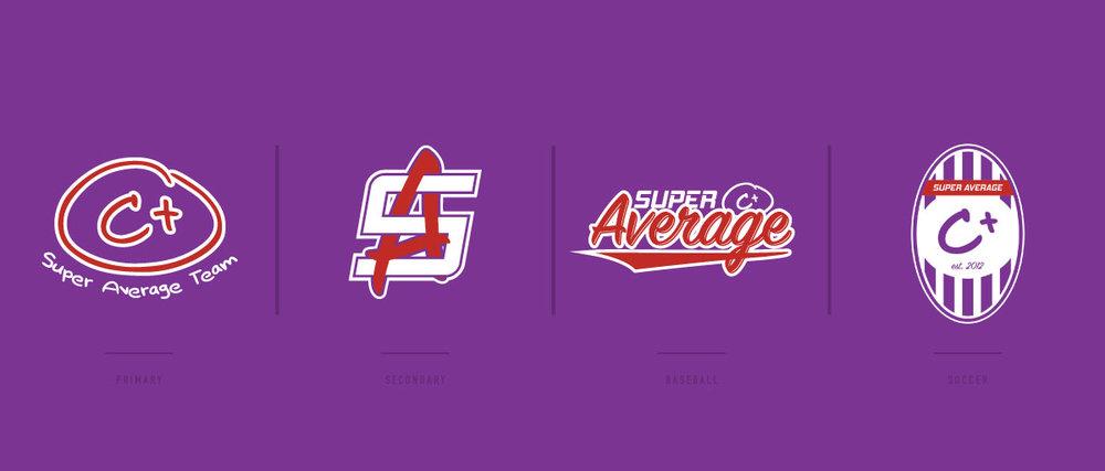 SuperAverage Logos