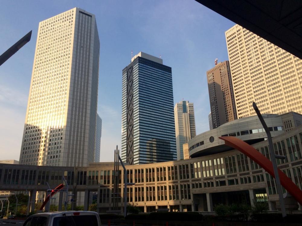 Tokyo Metropolitan Government Building in Shinjuku.