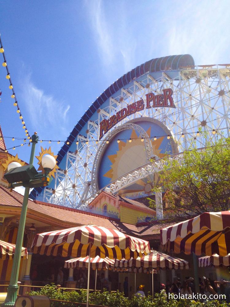 California Screamin' roller coaster.