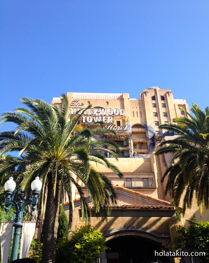 The Tower of Terror transports you to the Twilight Zone!