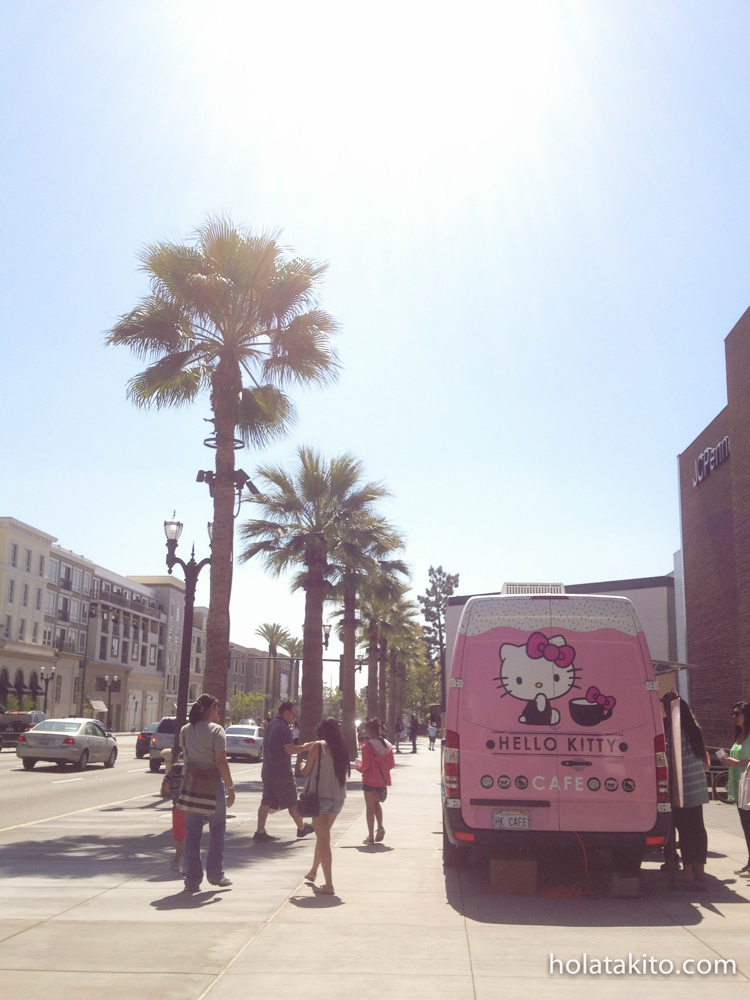 It was parked between Glendale Galleria and The Americana; super sunny day!