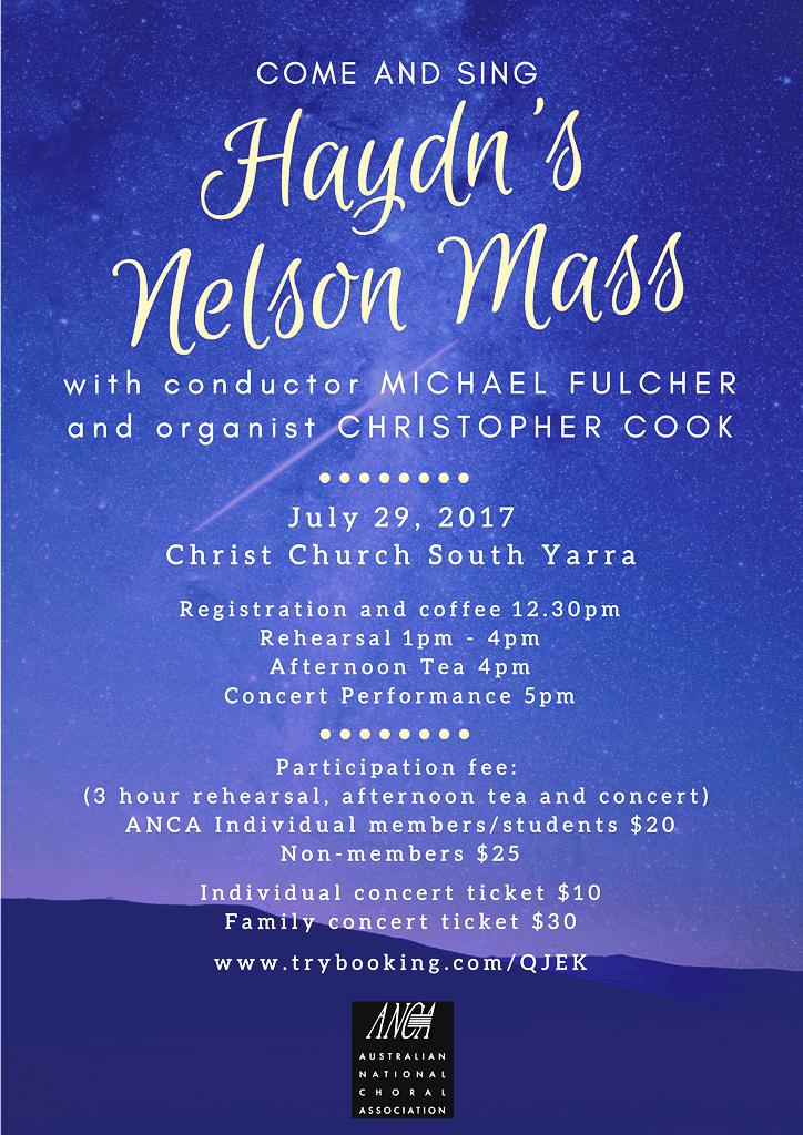 CCSY Nelson Mass