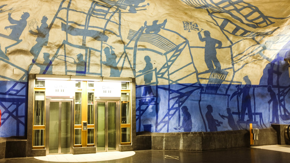 T-Centralen Station - Blue Line