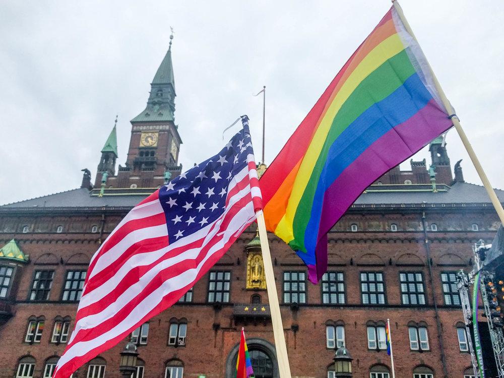 Copenhagen, Denmark. 2016 pride celebration