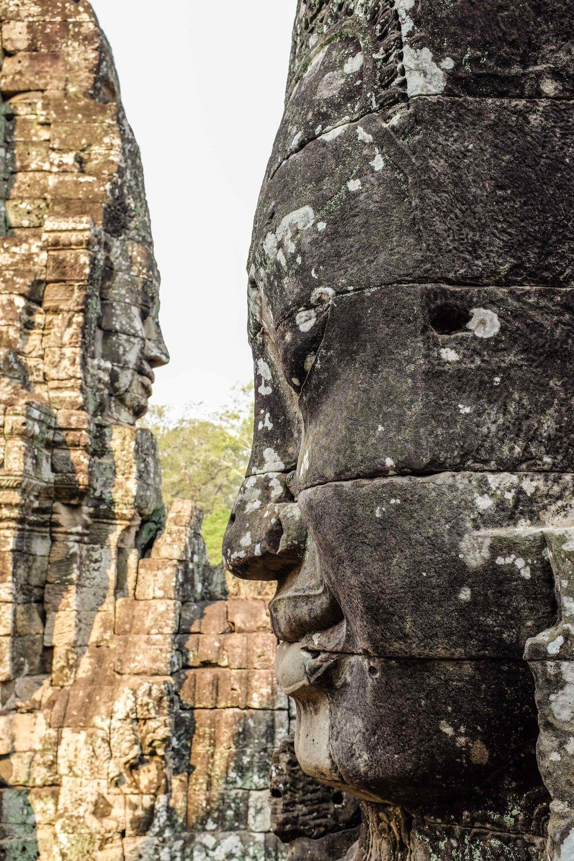 Up close bodhisattva