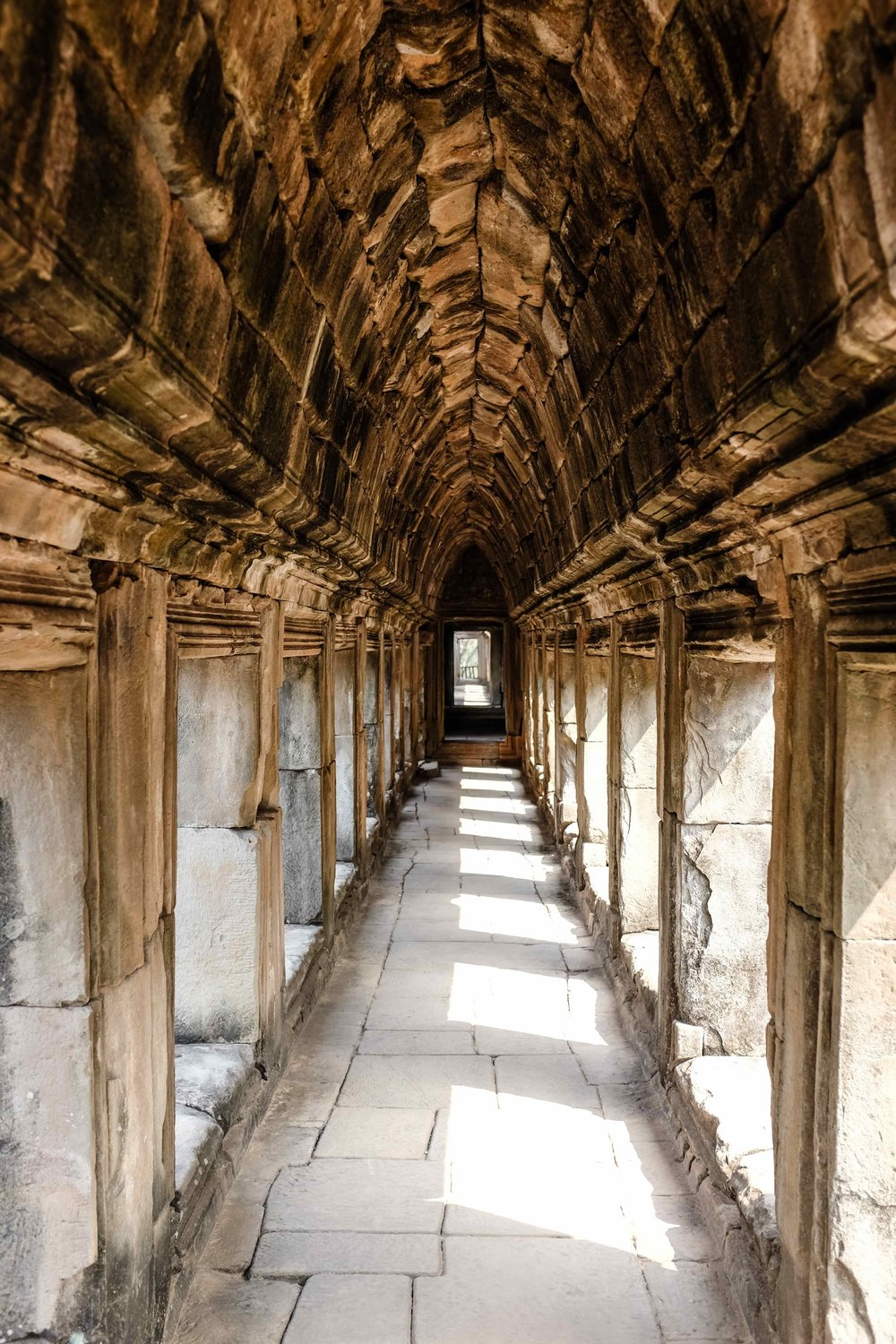 Corridors around the Royal Palace.