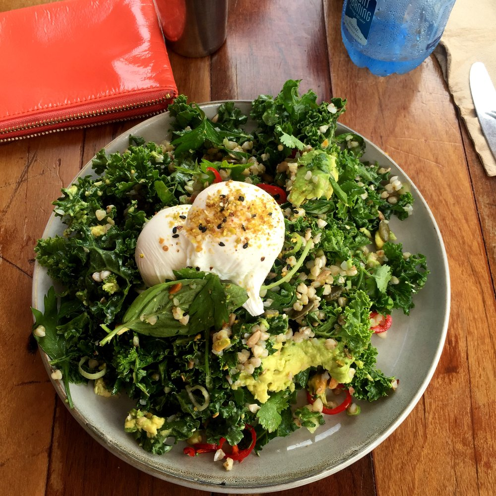 Brekky Greens @ Bayleaf Cafe
