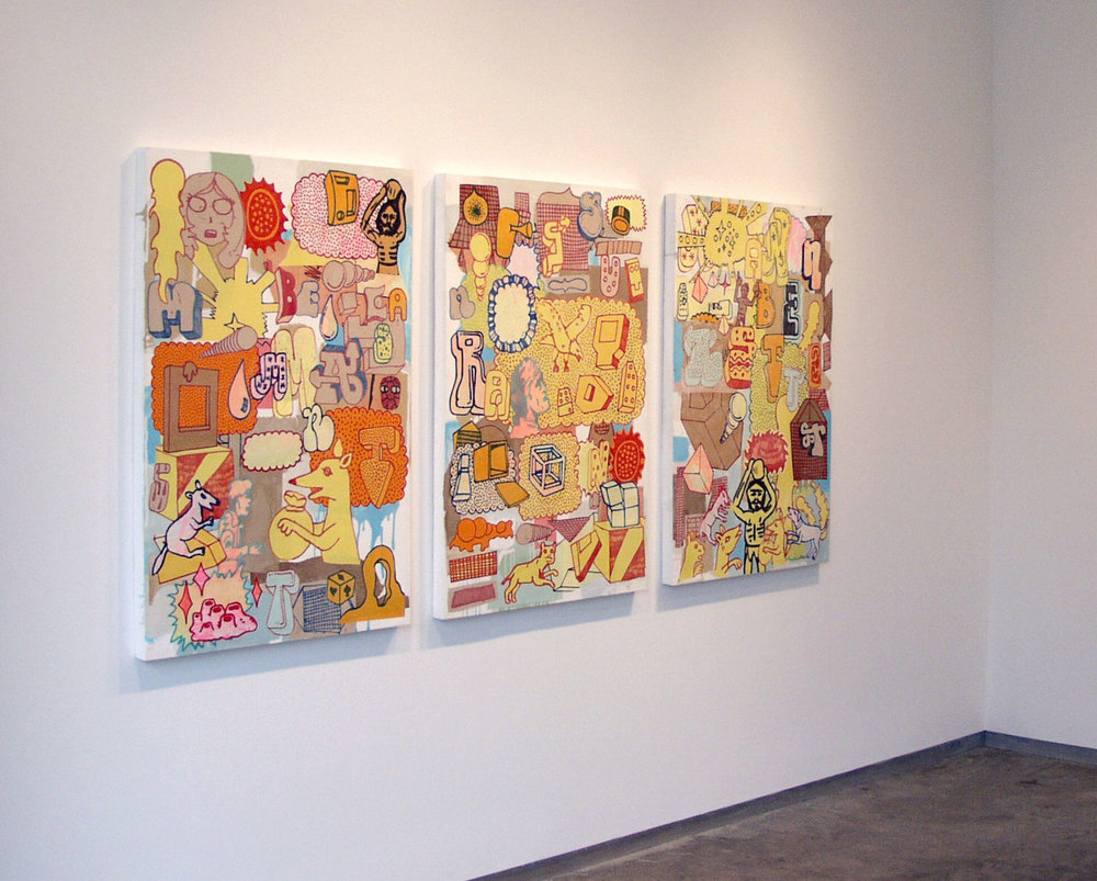 Installation View, Sandra Gering Gallery