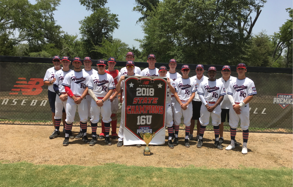 16U TEXAS PREMIER STATE CHAMPIONS - HOUSTON KC