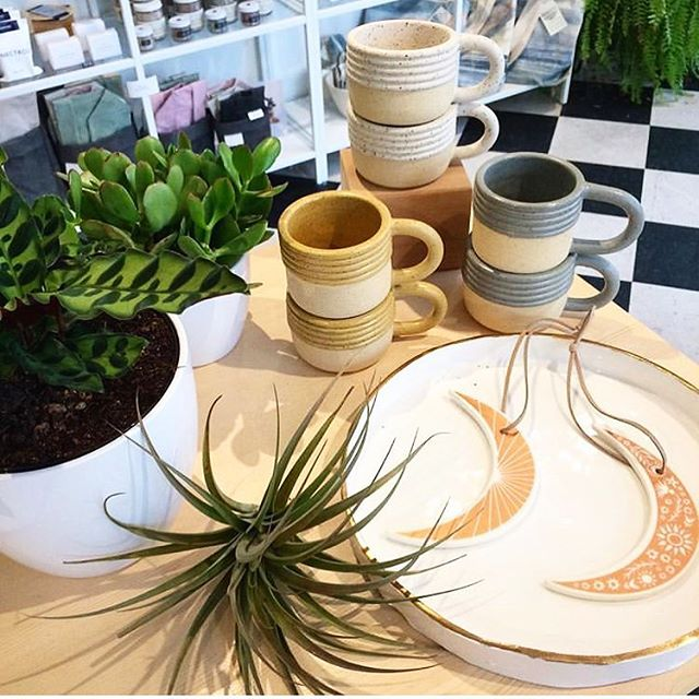 @goodomenshop is home to my, and many other gifted makers', work ⭐️🖤⭐️ Wander by, pop in, touch things, and if you can, support us locals 🥰 #goodomenshop #newwest #ramchildceramics #ceramics #canadianceramics #localartist #localmakers #smallbatch #vancouverartist