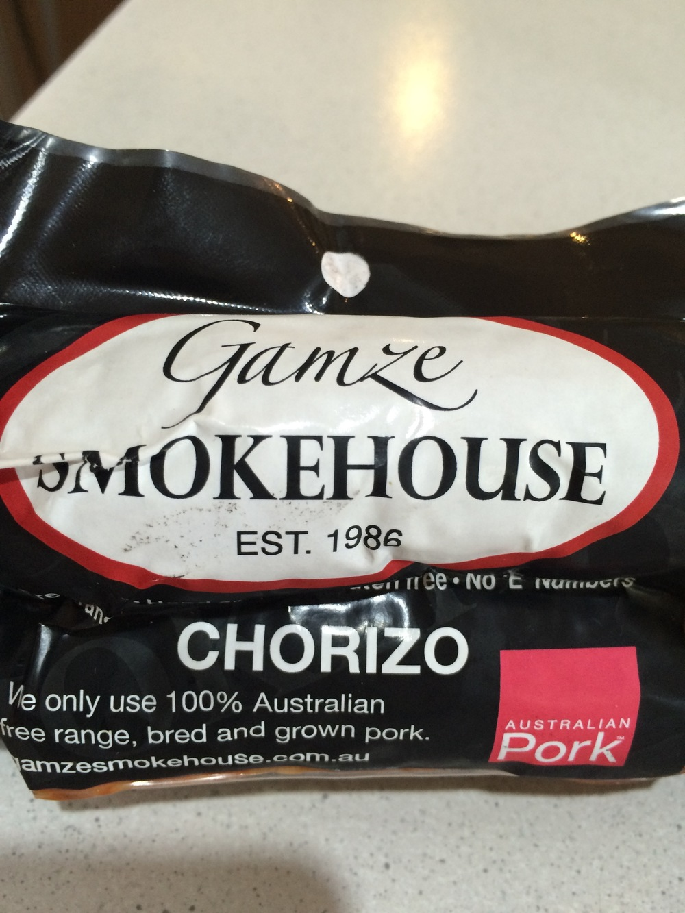 This is the brand of chorizo I use