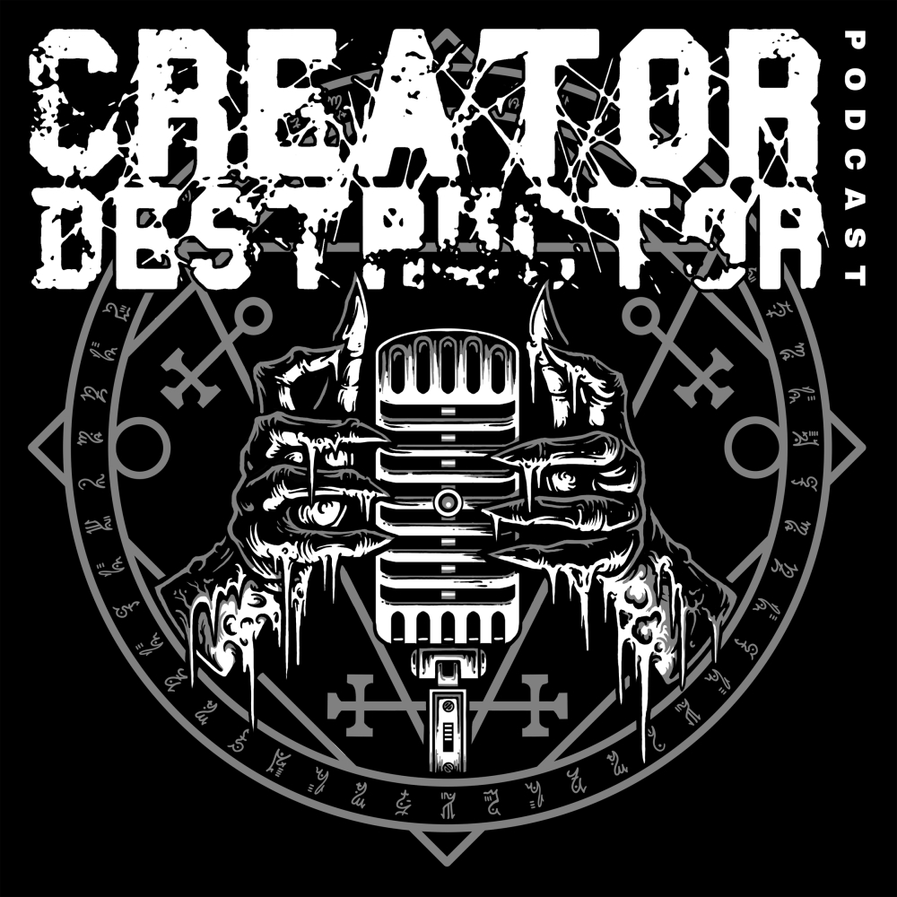 """Broadcast"" Client: Creator Destructor Records Logo Design"